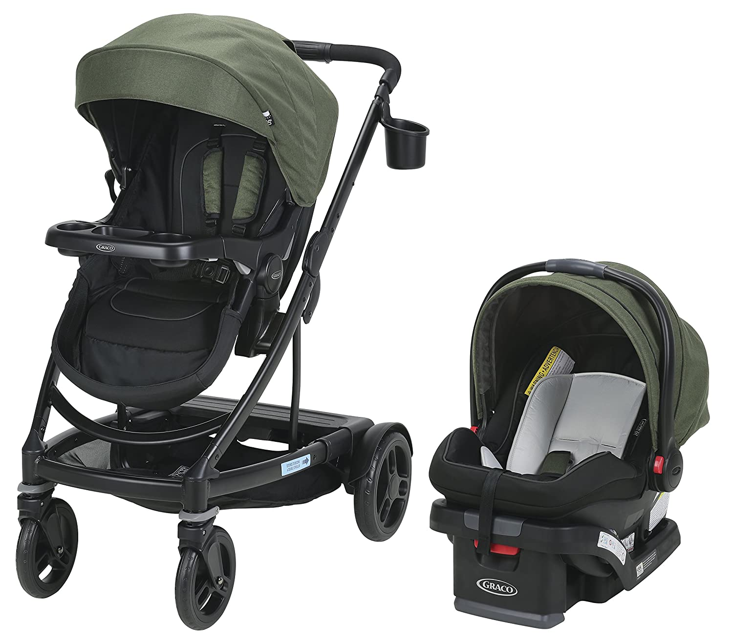 Graco UNO2DUO Travel System Stroller, Jules Graco Baby 2032496