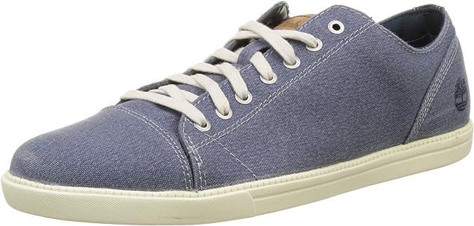 Timberland Newmarket-Fulk LP Canvas Oxford, Zapatos de Cordones Hombre
