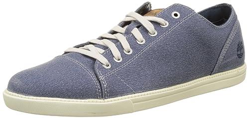 Timberland Newmarket-Fulk LP Canvas Oxford, Zapatos de Cordones Hombre: Amazon.es: Zapatos y complementos