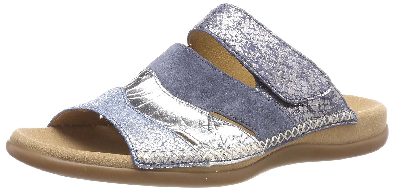 Gabor Shoes Gabor Jollys, Mules para Mujer 39 EU|Azul (Cielo/Argento/Jean)