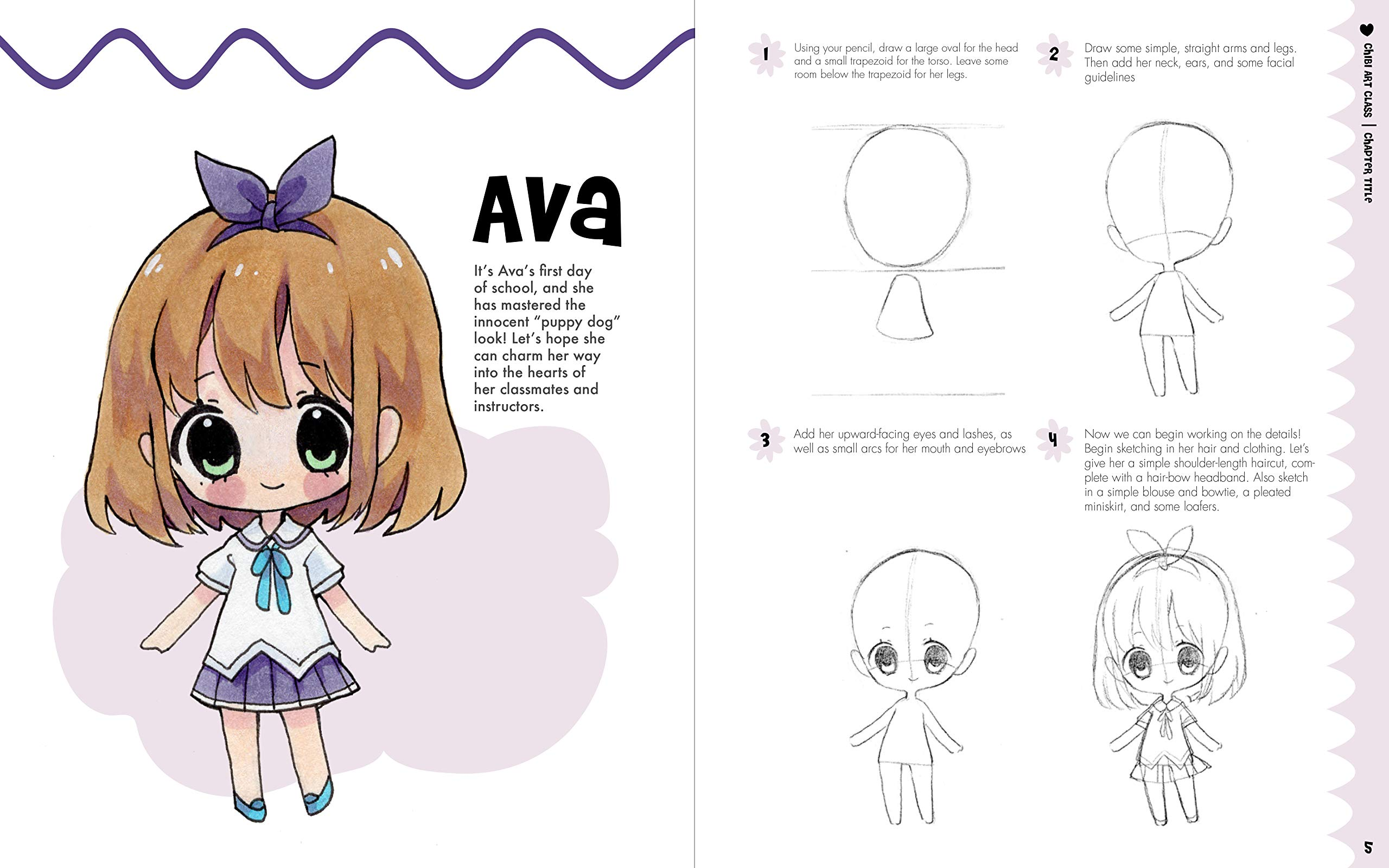 Download books pdf chibi art class: a complete course in drawing chib….