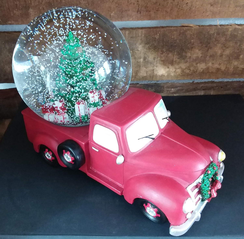 Bola de Nieve Decorativa para Coche, diseño de árbol de Navidad ...