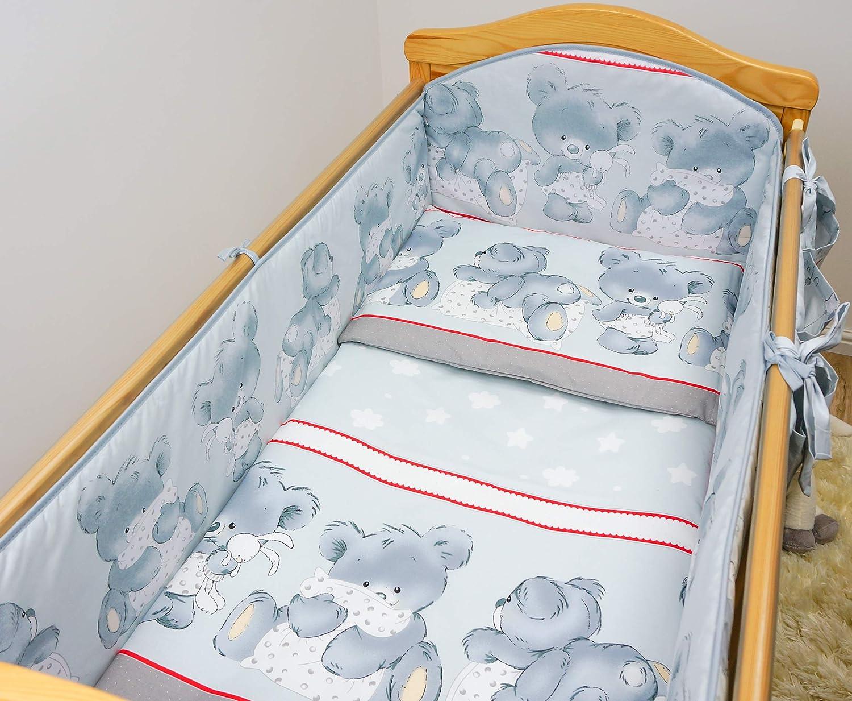 10 cm Fit 120x60 or140x70 cm Half Way Pour lit bébé très simple pare-chocs 2 M Dia