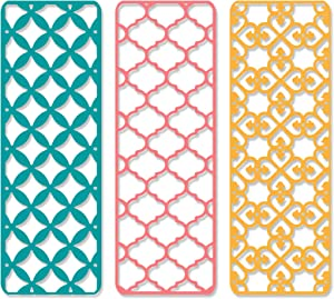 Sizzix Creative Backgrounds Dies, One Size, Multicolor
