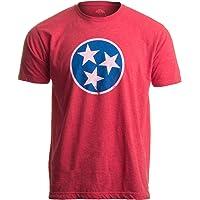 Tennessee Flag | Vintage Distressed Effect Tennesseean Volunteer State T-Shirt