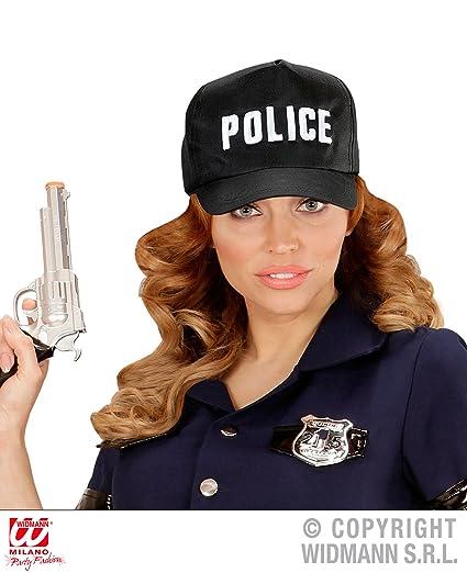 WIDMANN 03606 Policía Gorra Ajustable – Negro eab1017d0c9