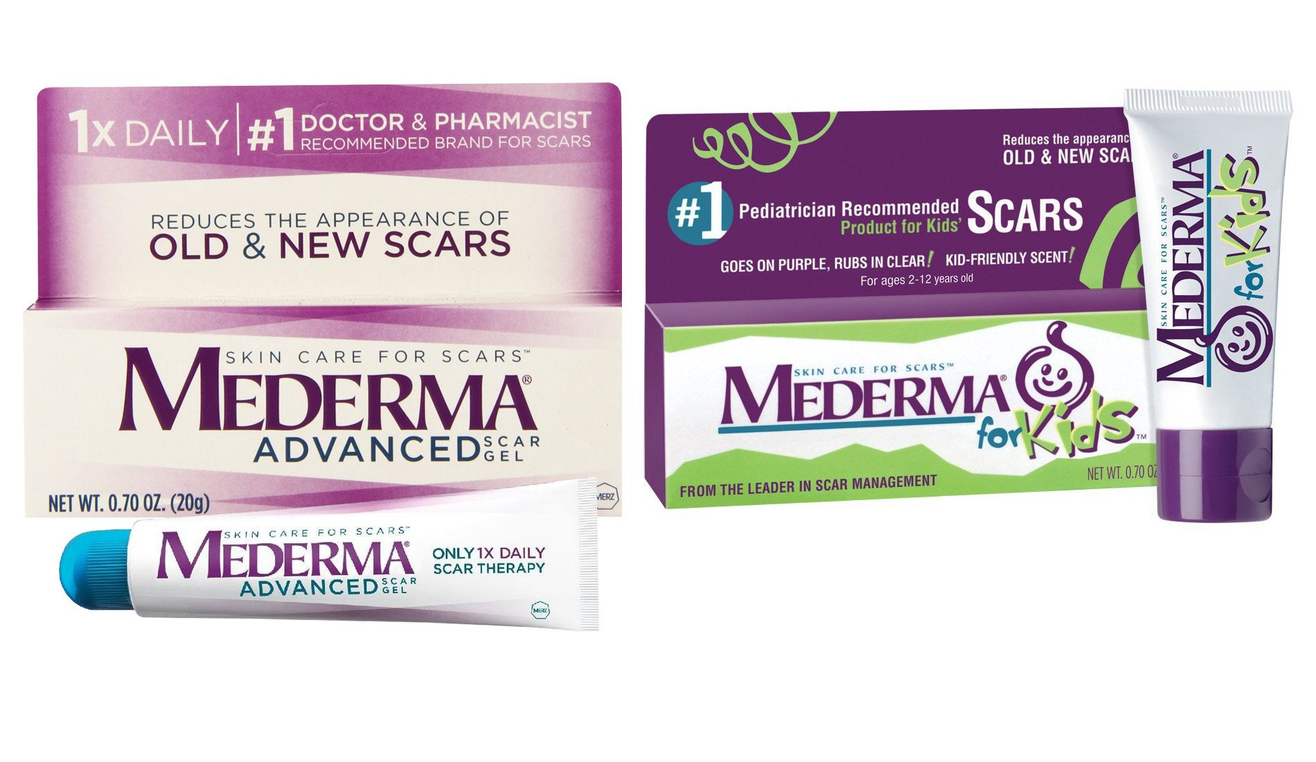 Mederma Advanced Scar Gel Scar Cream For Kids Buy Online In