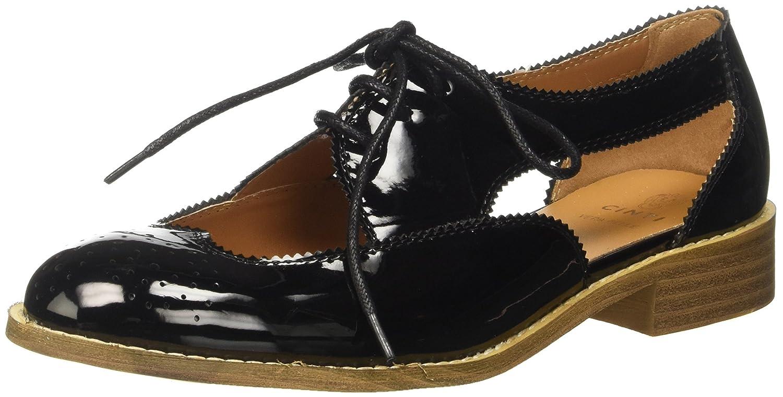 CINTI Sy234-p288 - Zapatos Brogue Mujer 37 EU|Negro (Nero 001)