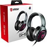 MSI Immerse GH50 Wired RGB Gaming Headset w/Detachable Microphone