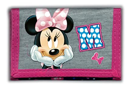 Disney MINNIE MOUSE - Billetera Monedero Niños Monedero ...