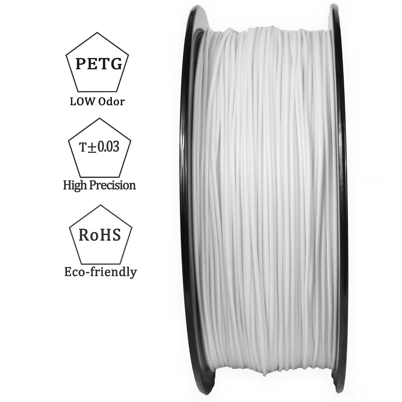 3d best-q blanco 1,75 mm PETG filamento impresora 3d dimensional ...