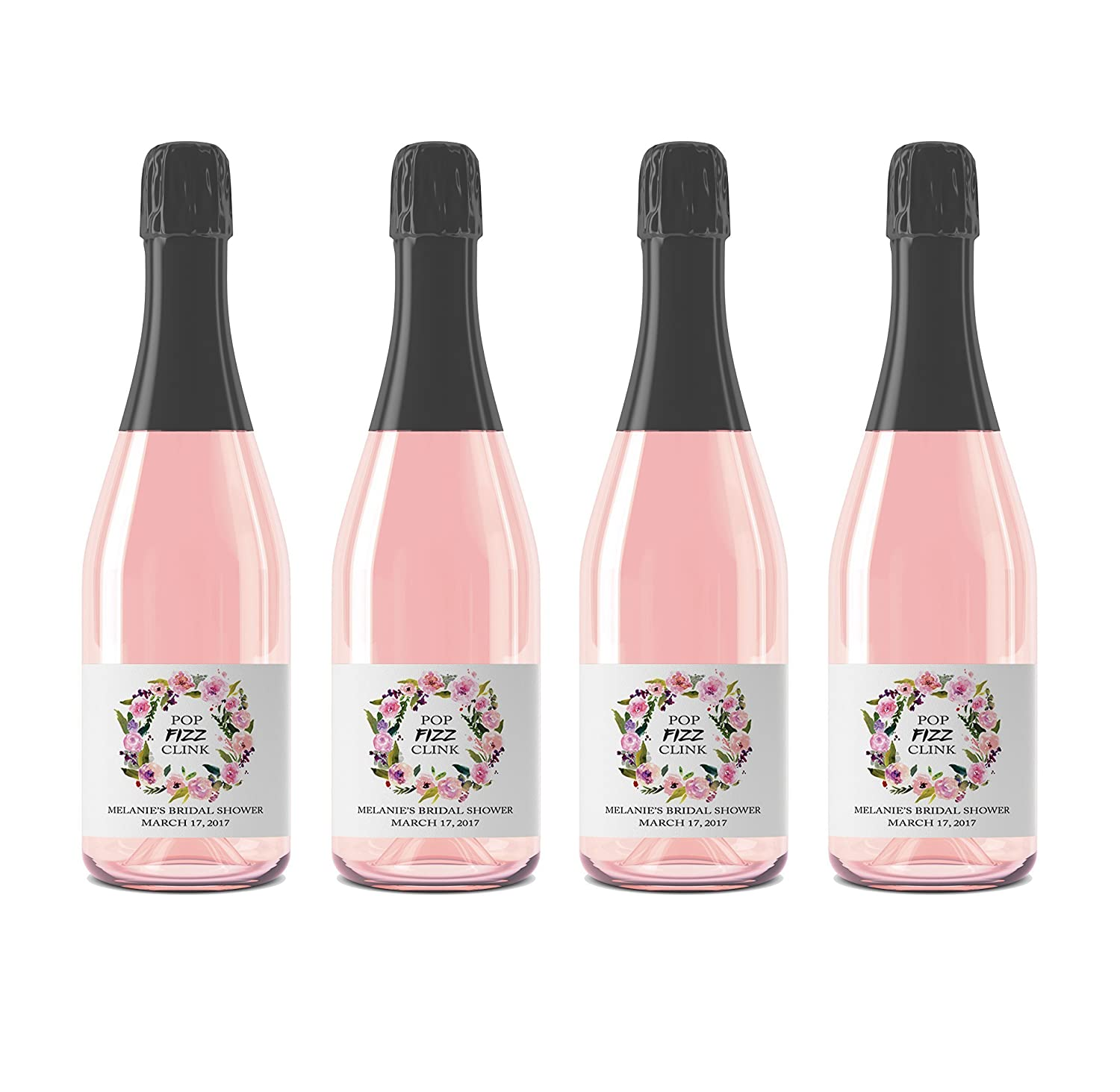 Amazon.com: Pop Fizz Clink! ○ SET of 12 ○ Floral Cheers to the ...
