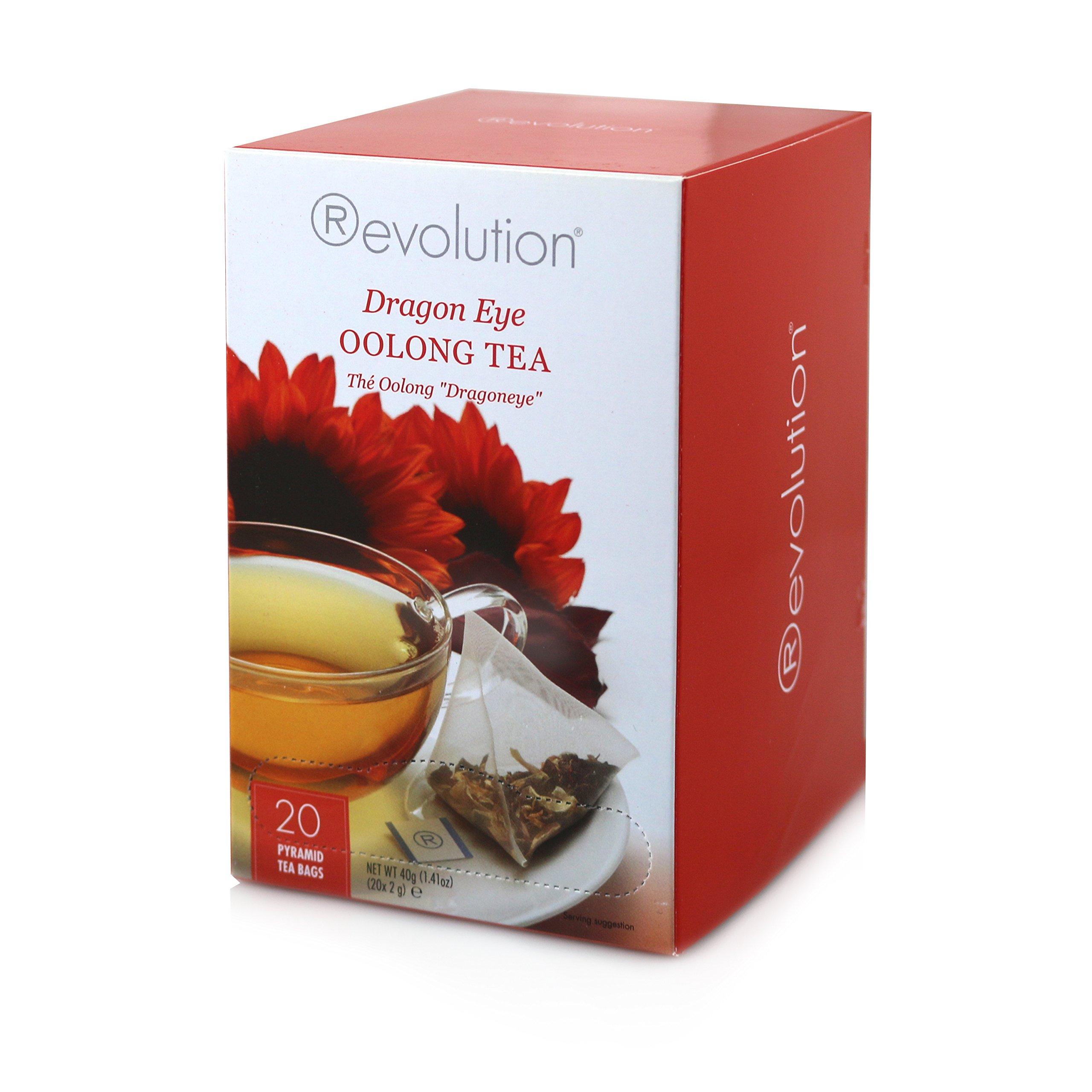 Revolution Tea, Dragon Eye Oolong 20 Ct