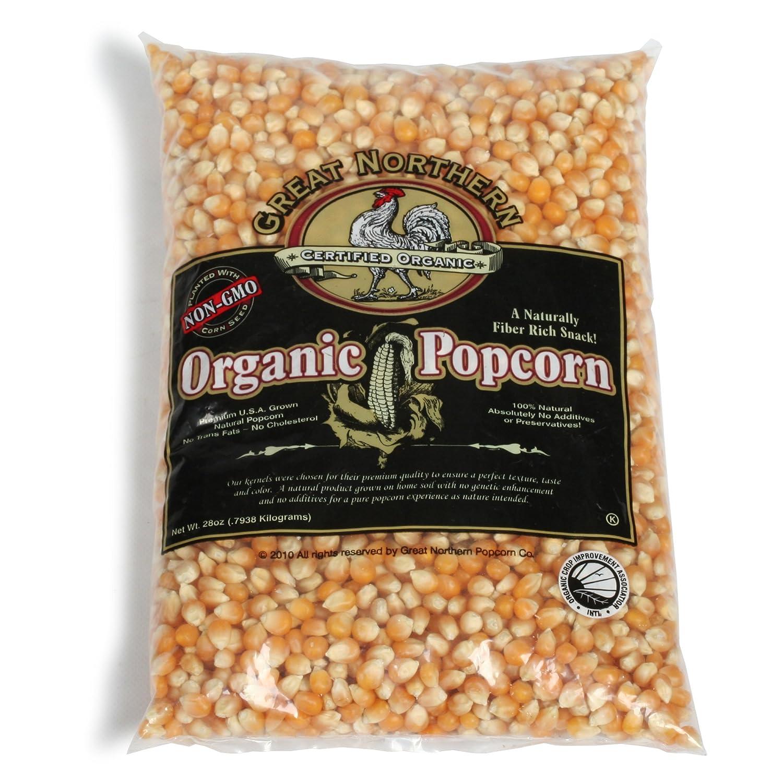 Palomitas de maíz orgánicas de Great Northern: Amazon.com ...