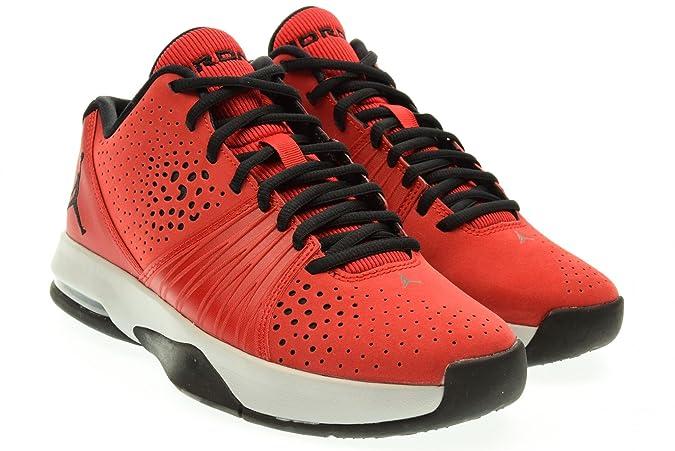8e5cb9aed99 Amazon.com | NIKE 807546-603 Men 5 AM Jordan Gym RED/Wolf Grey/Black |  Basketball