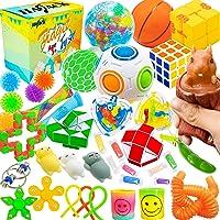 HAJACK Fidget Toys Packs, 40 PCS Sensory Toys Set for Autistic Children & ADHD & Adults & ADD & OCD to Relief Stress…
