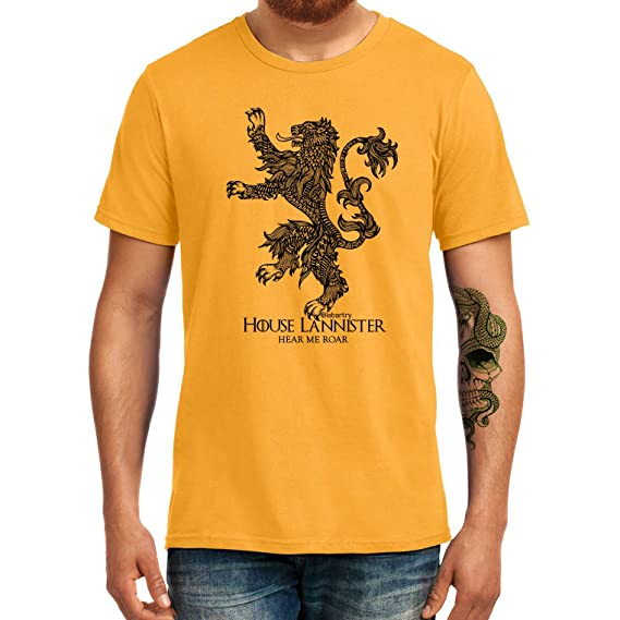 T-shirt Game Of Thrones TV Shows Lannister Hear Me Roar
