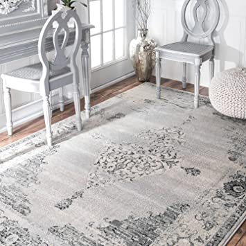NuLOOM Traditional Vintage Abstract Area Rugs, 6u0027 7u0026quot; X 9u0027, ... Part 81