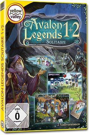 Avalon Legends Solitaire 1+2 (Yellow Valley) [Importación alemana]: Amazon.es: Videojuegos