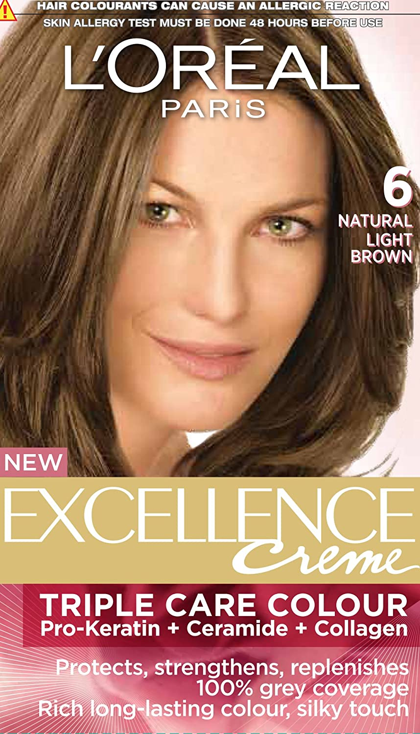 Buy Loreal Paris Excellence Creme Light Brown 0672ml100g Online