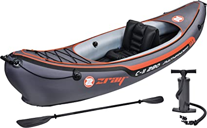 Amazon.com: Z-Ray Pathfinder c-ii 280 1-Person Inflatable ...