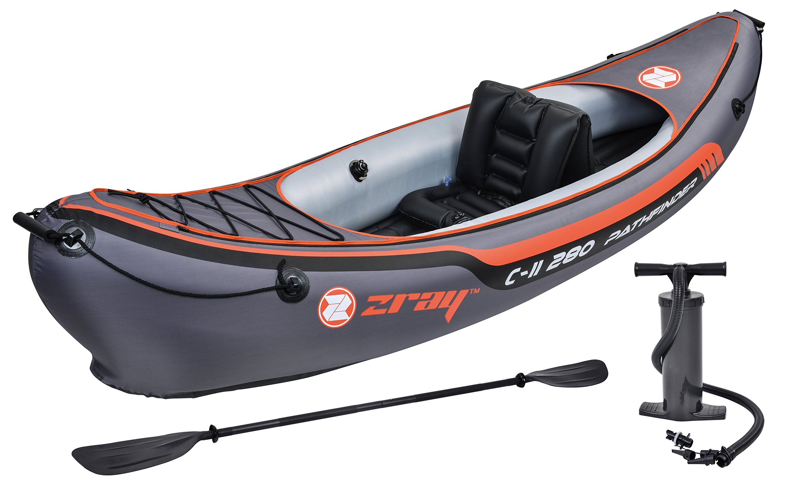 Z-Ray Pathfinder C-II 280 1-Person Inflatable Kayak by Zray