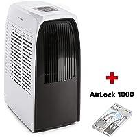 TROTEC Lokales mobiles Klimagerät Klimaanlage PAC 2000 X mit 2,0 kW / 7000 Btu inklusive Tür- und Fensterabdichtung AirLock 1000