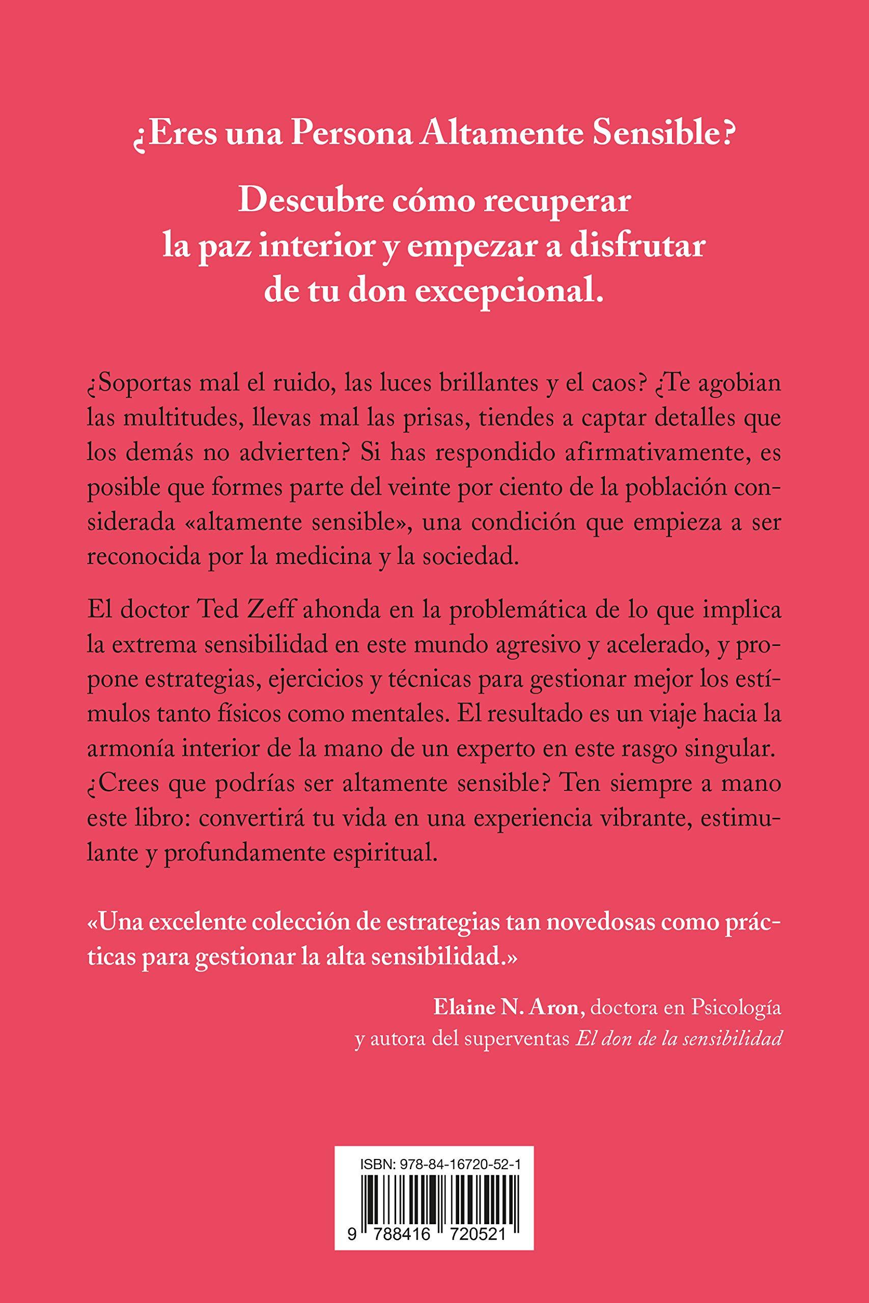 La guía para las Personas Altamente Sensibles Crecimiento personal:  Amazon.es: TED ZEFF, Silvia Alemany Vilalata: Libros