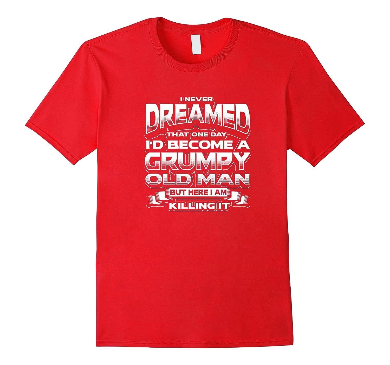 A Grumpy Old Man T-shirt-TD