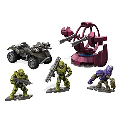 Mega Construx Halo UNSC Gungoose Rampage Building Set: Mega Construx Gaming And Pop Culture: Toys & Games