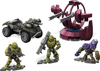 Amazon Com Mega Construx Halo Unsc Gungoose Rampage Building Set