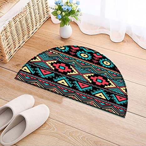 Amazon Com Nalahomeqq Bedroom Rugs Tribal Vintage Ethnic Seamless