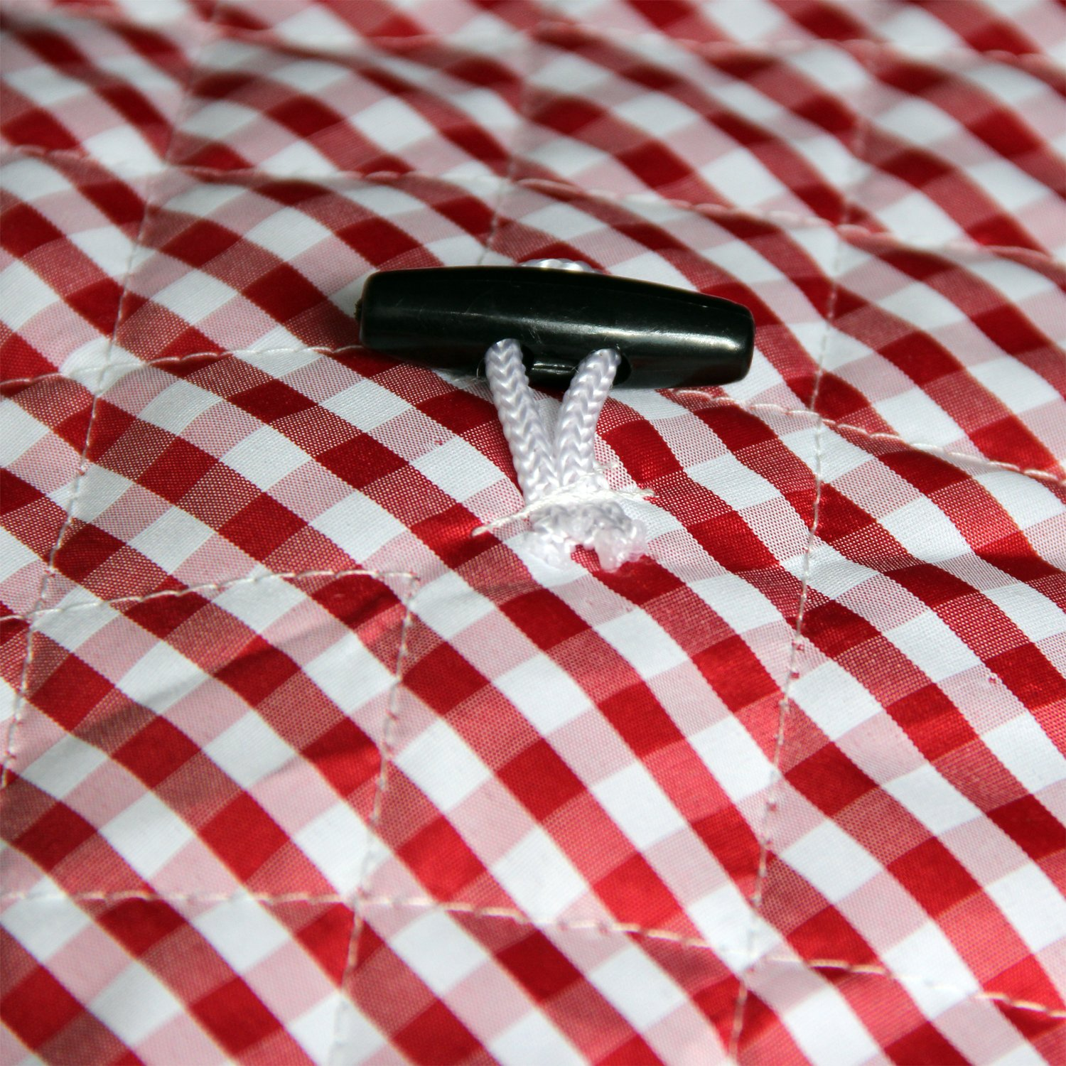 Lexvss Dust Cover, Anti-oil-smoke Cotton Bag for Electric Pressure Cookers, with Accessories Pocket, Family Essential Dust Cover for Instant Pot 6qt, by Lexvss【Red and White Gingham】 by lexvss (Image #3)