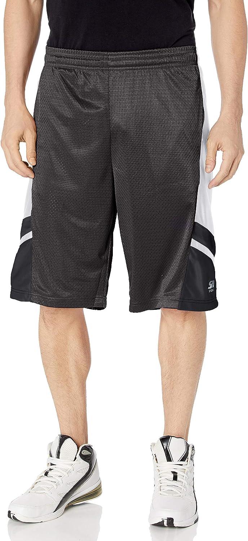 Southpole Men's Basic Basketball Mesh Shorts: Clothing
