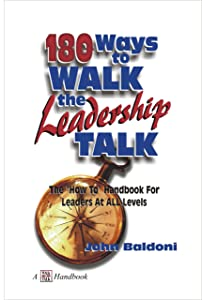 180 Ways To Walk The Leadership Talk