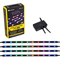 Corsair Lighting Node PRO Contrôleur d'Éclairage RGB avec Bandes LED RGB Individuellement Paramétrables