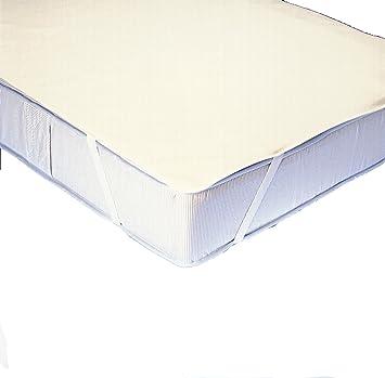 Ibena 5025/funda para colchones extragrandes con protección para empeine 010 pre-hemos 120 x 200 cm: Amazon.es: Hogar