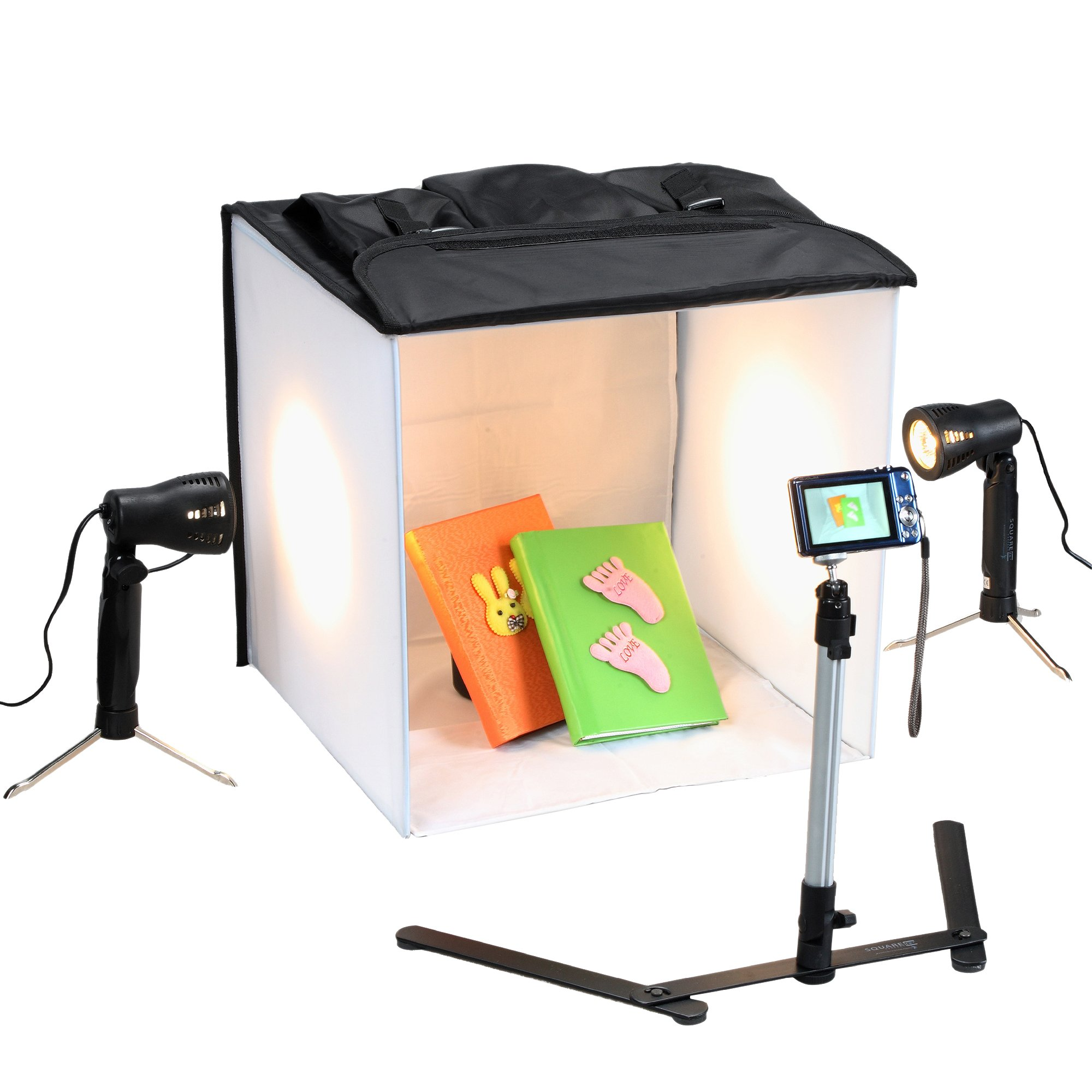 3085 Square Perfect Professional Quality 16 Inch Studio In a Box Light Tent Cube for Quality Photography by SQUARE PERFECT