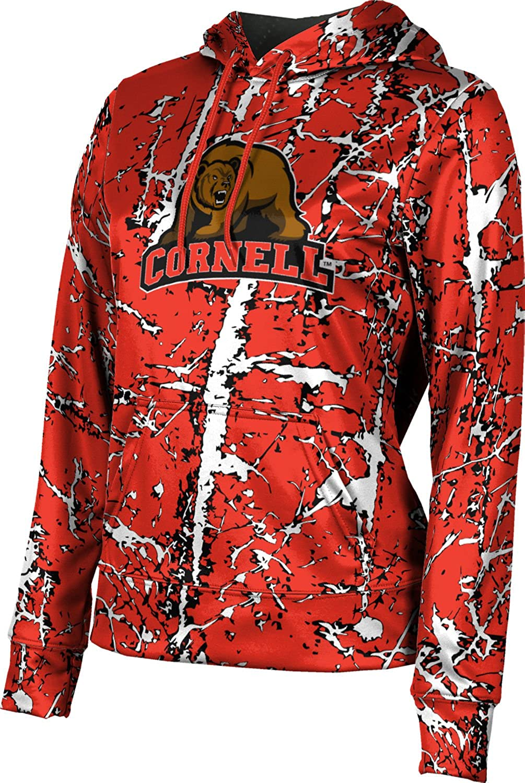Distressed School Spirit Sweatshirt ProSphere Cornell University Girls Pullover Hoodie