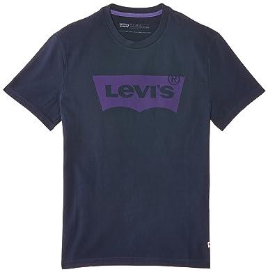 Levis Batwing Camiseta Manga Corta, Blue (Blues), X-Small para Hombre: Amazon.es: Ropa y accesorios