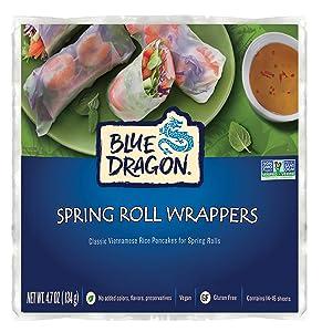 Blue Dragon Spring Roll Wrapper oz, 4.7 Ounce
