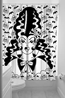 72 Inch X 78 Inch AX-AY-ABHI-40553 Sourpuss Octopus Shower Curtain