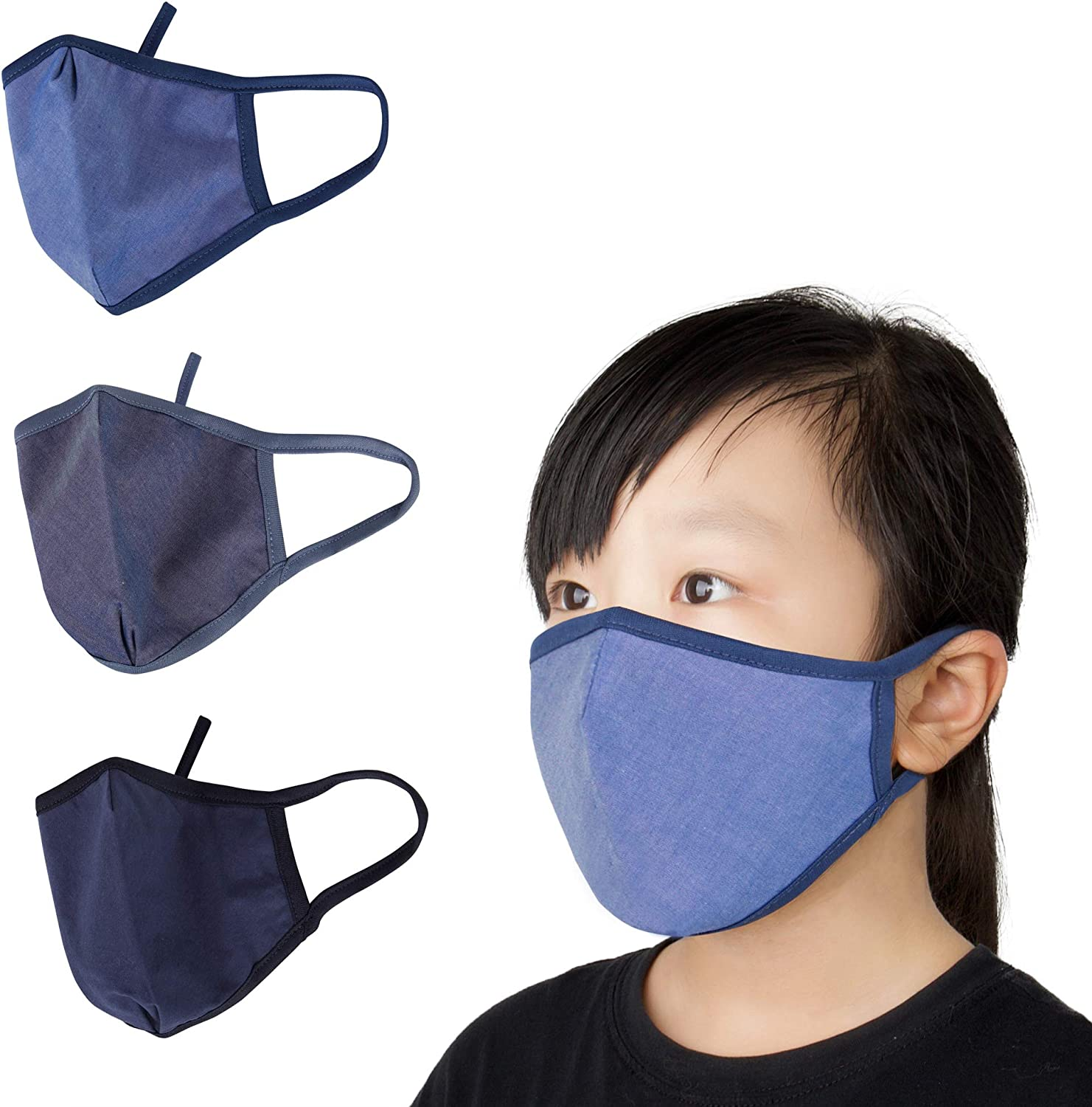 OS-SO Protective Reusable Face Covering Soft With Elasticated Straps