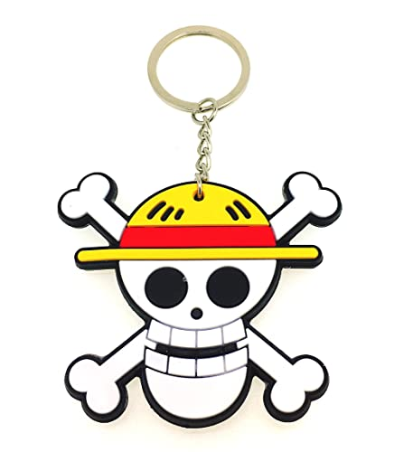 Gemelolandia Llavero Calavera One Piece Anime: Amazon.es ...