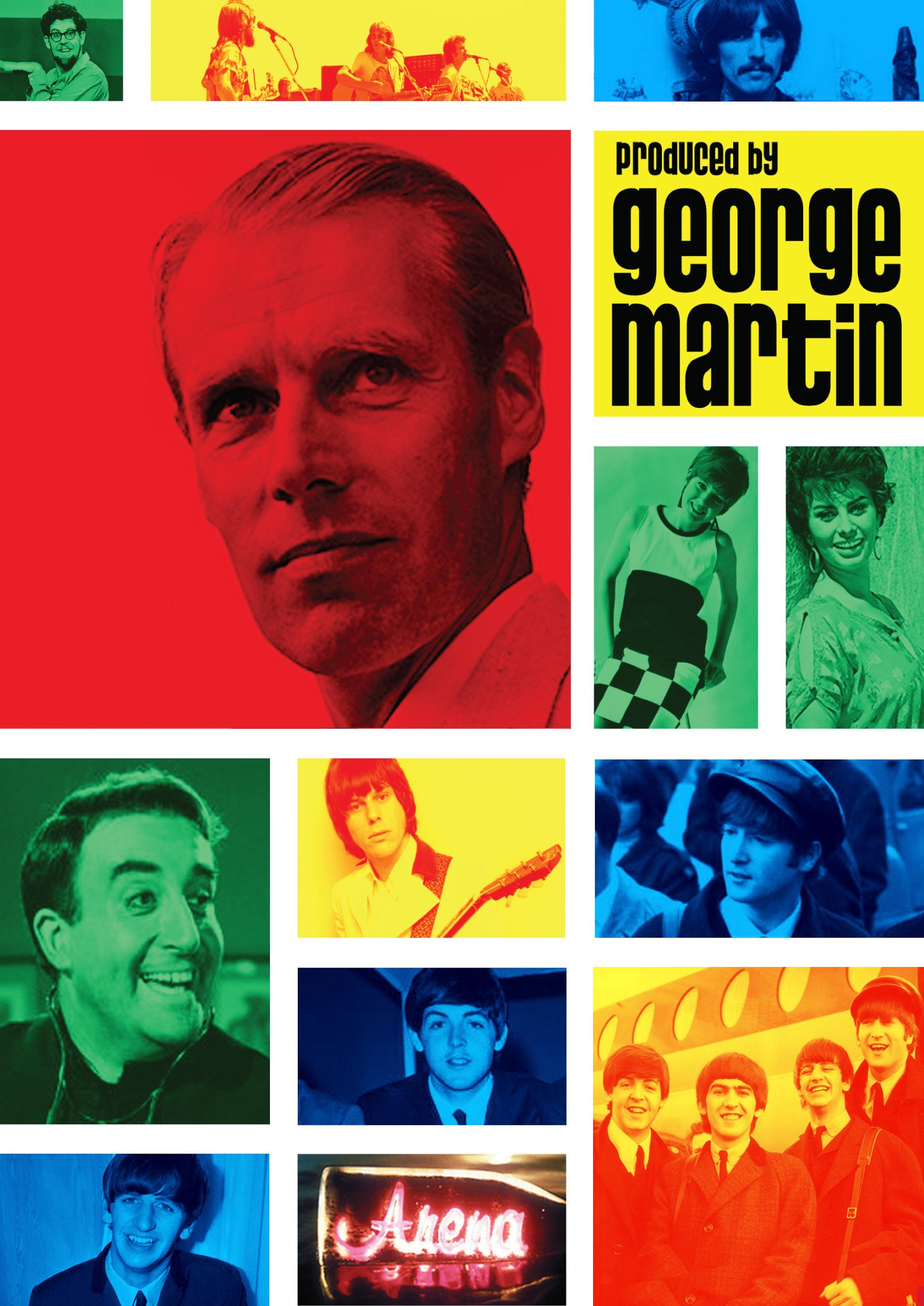 DVD : George Martin - Produced By George Martin (DVD)