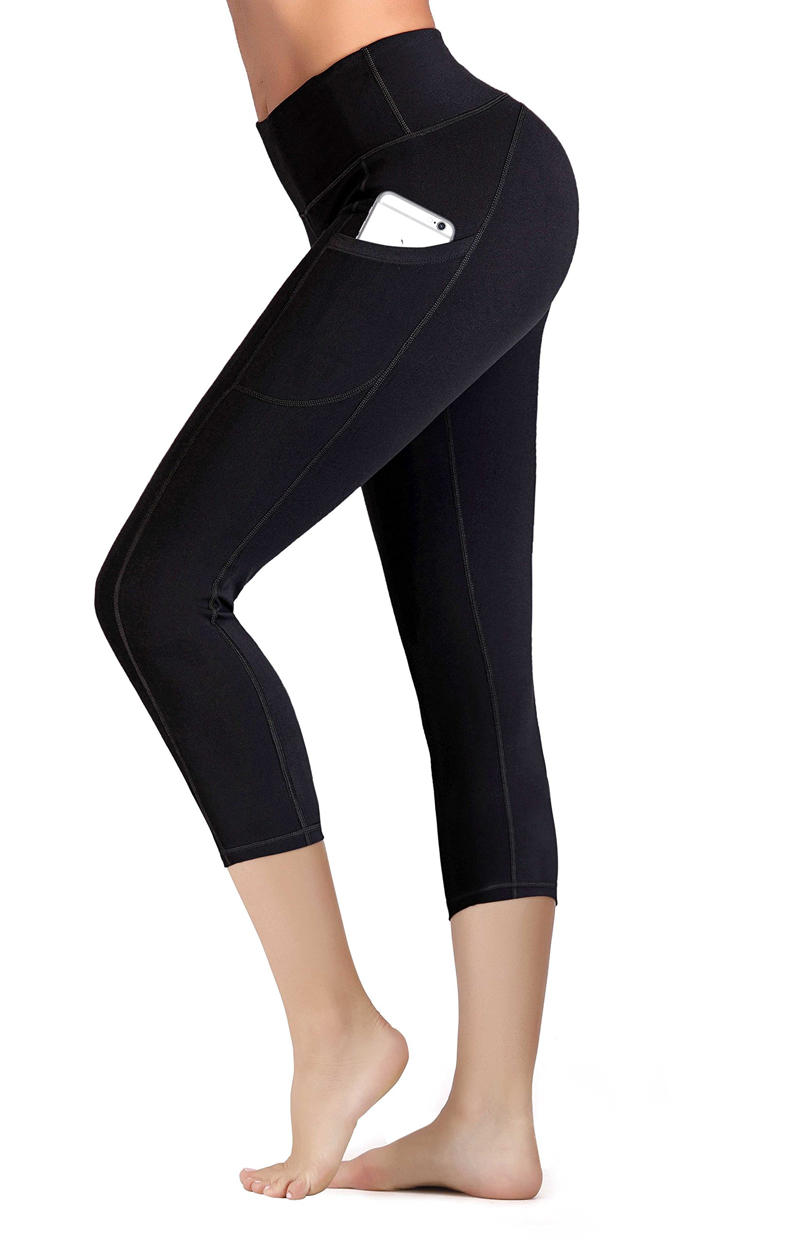 IUGA Yoga Pants with Pockets Tummy Control Workout Running Leggings with Pocke