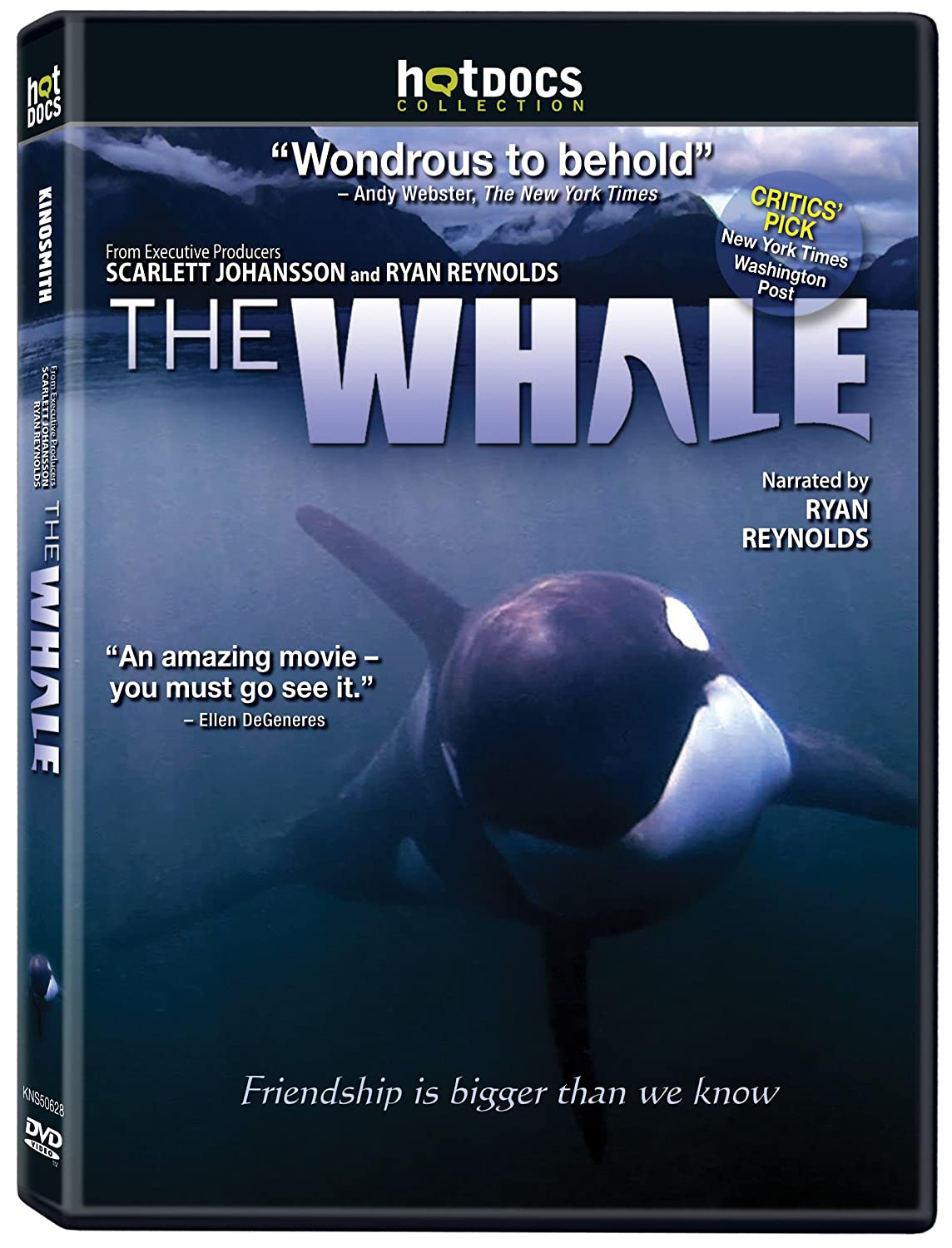 The Whale Narrated by Ryan Reynolds eOne Films Documentary