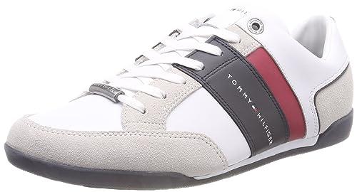 Tommy Hilfiger Corporate Material Mix Cupsole, Zapatillas para Hombre: Amazon.es: Zapatos y complementos