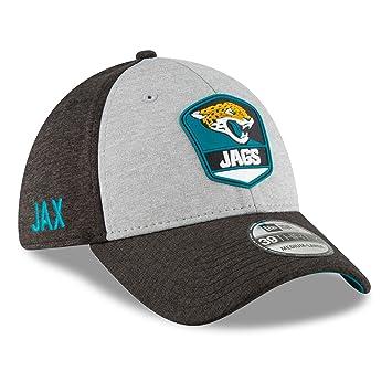 the latest 7405f 3aa01 New Era Jacksonville Jaguars NFL Sideline 2018 Road 39THIRTY Cap