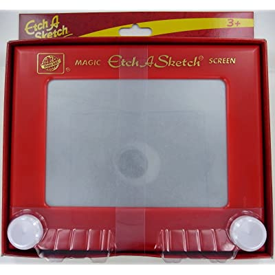 Ohio Art 505 Classic Etch A Sketch Magic Screen: Toys & Games